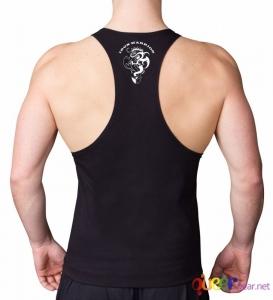 Фитнес потник PITBULL с изрязан гръб  2