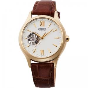 Дамски автоматичен часовник ORIENT Classic Open Heart - RA-AG0024S
