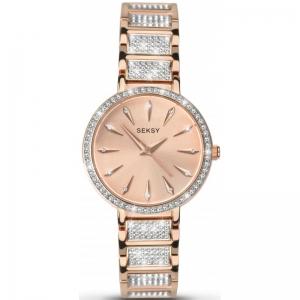 Дамски часовник Seksy Aurora Swarovski Crystals - S-2372.37