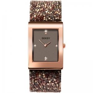 Дамски часовник Seksy Rocks Swarovski Crystals - S-2580.37