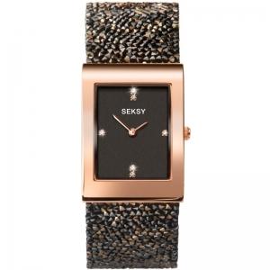Дамски часовник Seksy Rocks Swarovski Crystals - S-2653.37