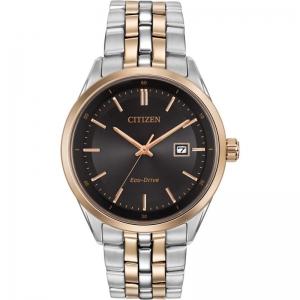 Мъжки часовник CITIZEN Black Dial Two-tone - BM7256-50E