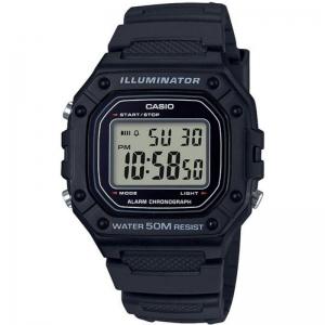 Мъжки дигитален часовник CASIO - W-218H-1AVEF