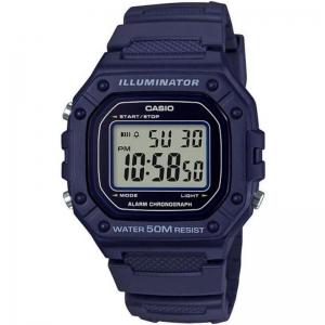 Мъжки дигитален часовник CASIO - W-218H-2AVEF