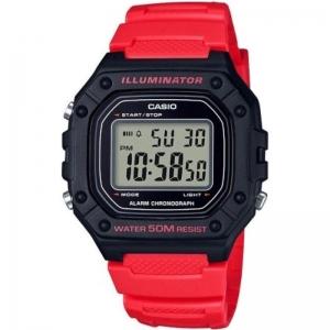 Мъжки дигитален часовник CASIO - W-218H-4BVEF