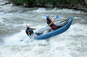 Двуместно надуваемо кану