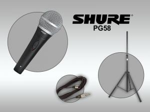 Вокален микрофон SHURE PG58
