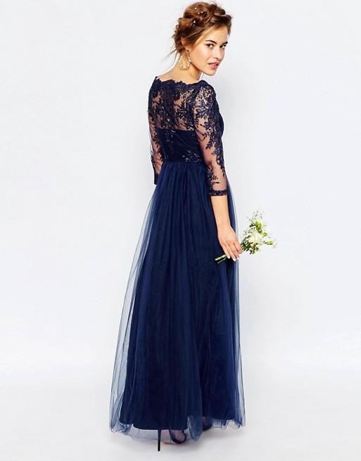 Дамска рокля Chi Chi London, Premium lace 3