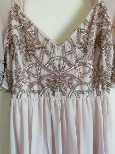 Дълга рокля Bohoo с мъниста 4
