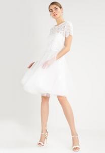 Бяла коктейна рокля Derhy LANTANA 1