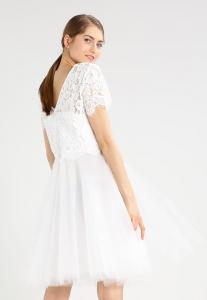 Бяла коктейна рокля Derhy LANTANA 2