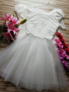 Бяла коктейна рокля Derhy LANTANA 3