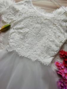 Бяла коктейна рокля Derhy LANTANA 4