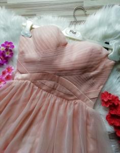Къса рокля Laona с подвижни презрамки 1
