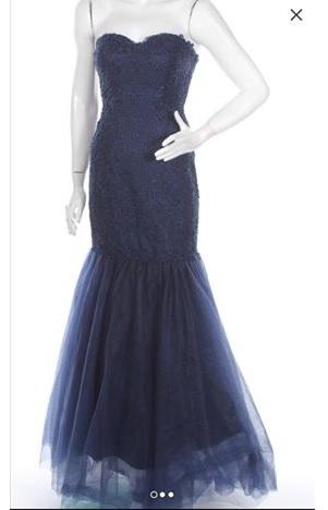 Официална рокля тип русалка