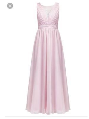 Официална рокля Chi Chi London Curve в розов цвят 1