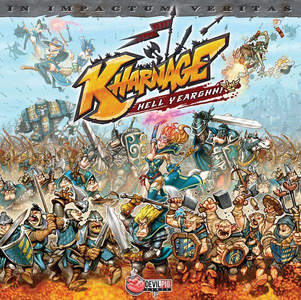 Настолна игра Kharnage + The Dark Army and Tricks & Mercenaries Expansions 1