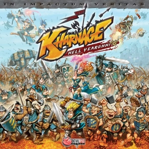 Настолна игра Kharnage + The Dark Army and Tricks & Mercenaries Expansions 1