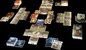 Настолна игра Kharnage + The Dark Army and Tricks & Mercenaries Expansions 2